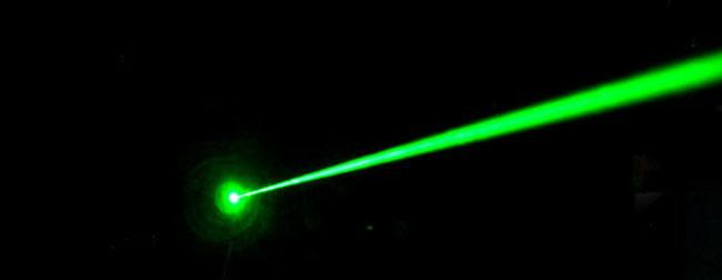 Precise laser beam