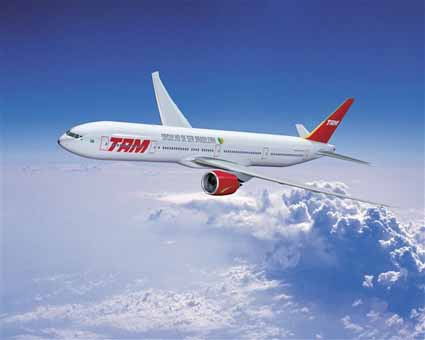 Boeing and TAM Announce Deal for Four 777-300ERs