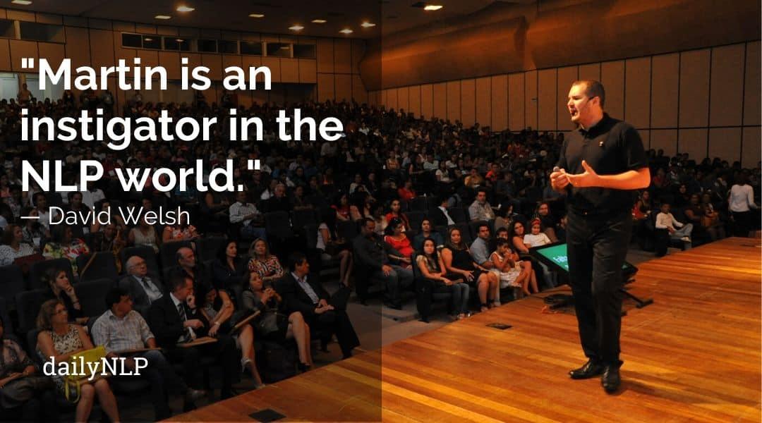 Martin Messier speaking in public